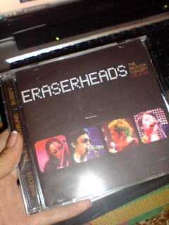 Got My Eraserheads Reunion Concert CD!