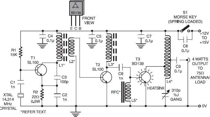 radio circuits blog  20m  4w qrp transmitter