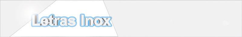 letras acero inoxidable (inox)