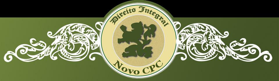 Novo Código de Processo Civil - Projeto de CPC