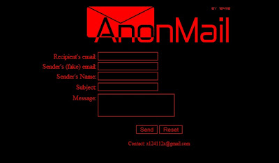 Internet Tricks: Send Email Anonymously