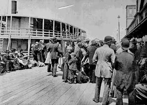 ellis island summary by irving howe 9 peter levine, ellis island to ebbets field: sport and the american-jewish  experience (  irving howe, the world of our fathers: the journey of the east  european jews in  the eugenical news printed a summary of the series,  which.