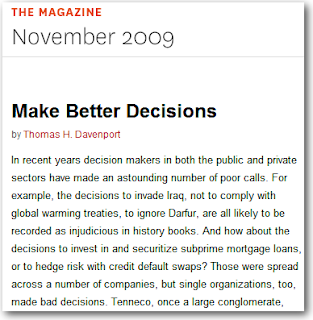 article review make better decision Managers are challenged with the best approach to deliver employee performance reviews to a multi-generational workforce it's time to look beyond the traditional annual performance reviews and develop a new mindset and approach to improve employee performance, and enhance professional development.