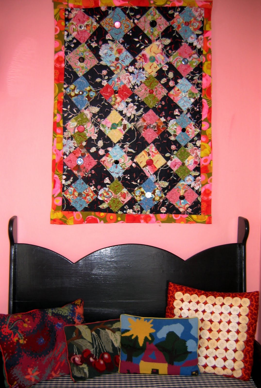 Nifty quilts wall quilts for Front door quilt pattern