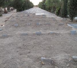 عکس جدیدی از بهشت زهرا از دفن اجساد جانباختگان خیابانی
