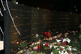 سنگ یادمان 63 عزیزدر اتش سوخته گوتنبرگ سوئد در 29 اکتبر 1388
