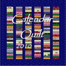 Calendar quilt