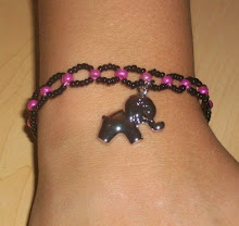 EllaFan Jewelry: <br>Handcrafted Bead Bracelet with Charm