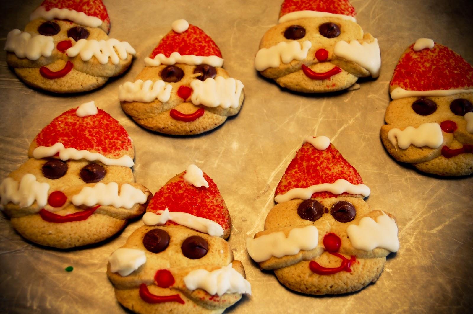Santa Claus Cookies Savvy In San Francisco