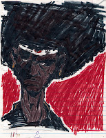 Afro Samurai Drawing by Evan