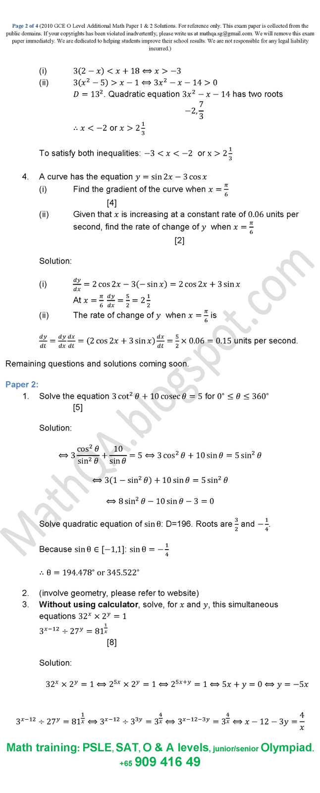 mathematics papers gcse Dear gcse student, on this page you will find: past papers, revision workbooks, links to video tutorials etc my advice is this: to be good at maths, you have to do maths and stick at it no.