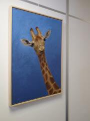 De giraffe....
