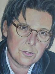 schilderij van Anita door Annemarie