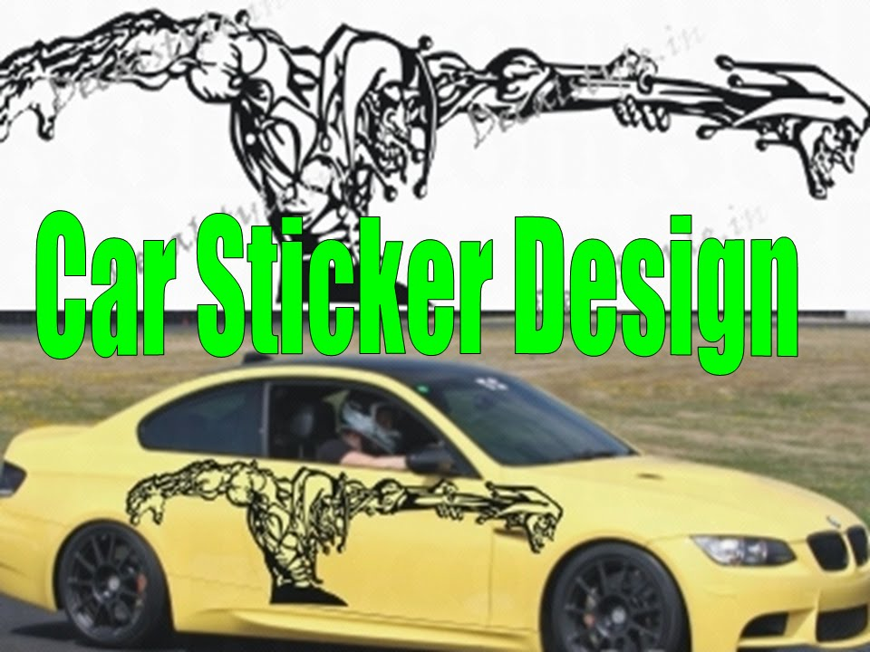 Diy tip pasang sticker costum design sendiri