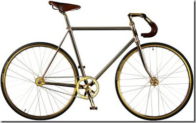Aurumania's Gold Bike Crystal Edition