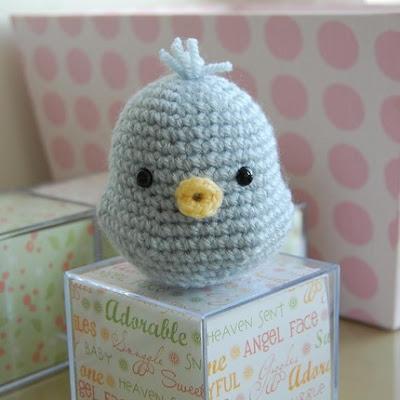 crochet applique bird on Etsy, a global handmade and