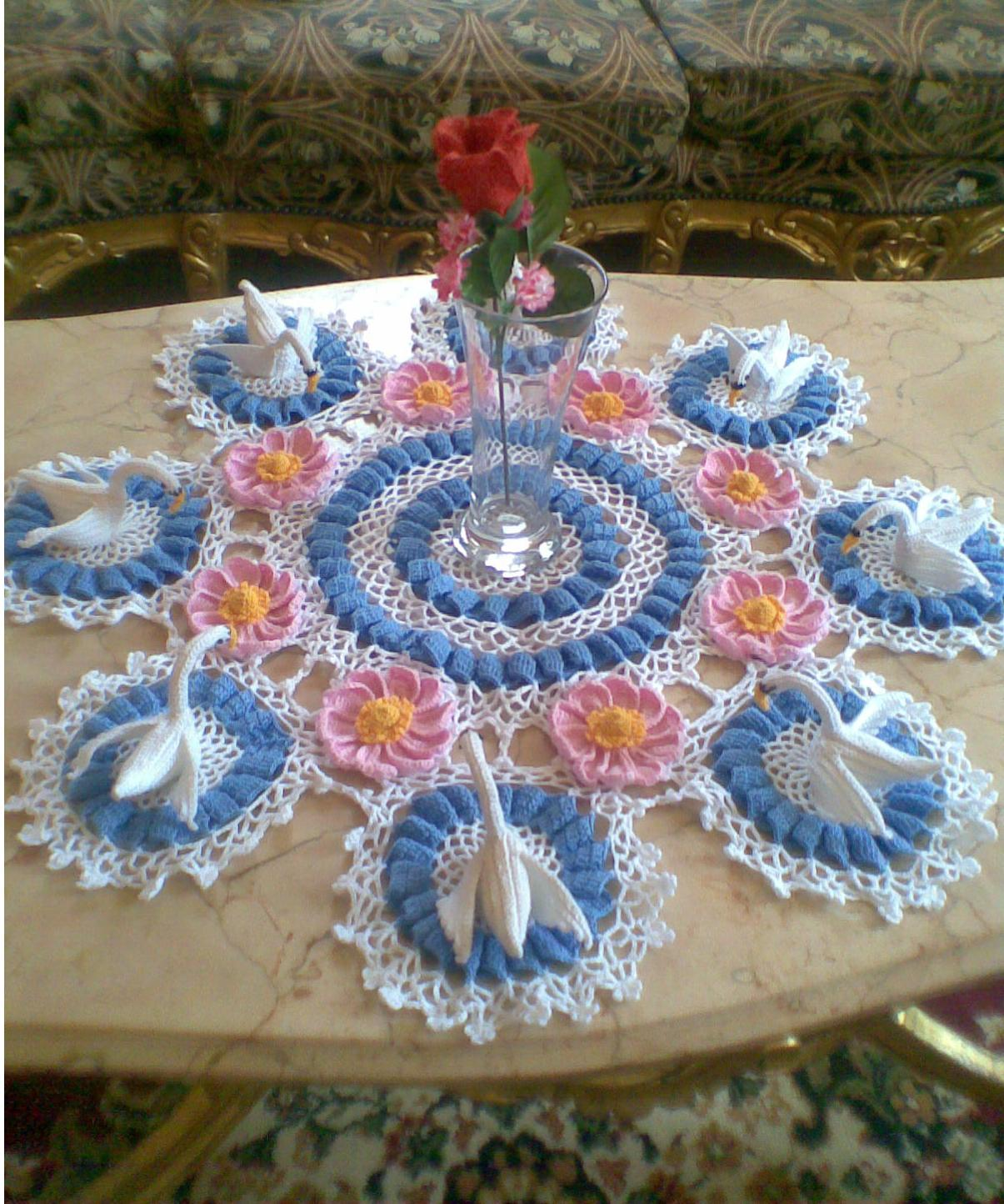 100 free vintage doily crochet patterns doilies pattern