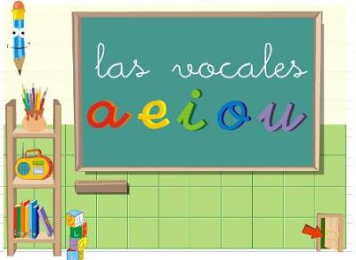 LAS VOCALES – APLICACION EDUCATIVA DE LAS VOCALES