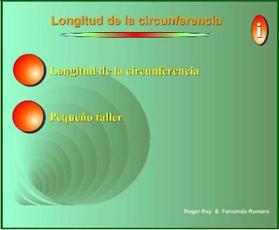 LA CIRCUNFERENCIA, EL DIÁMETRO Y EL RADIO