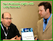 Paul With Craig Newmark