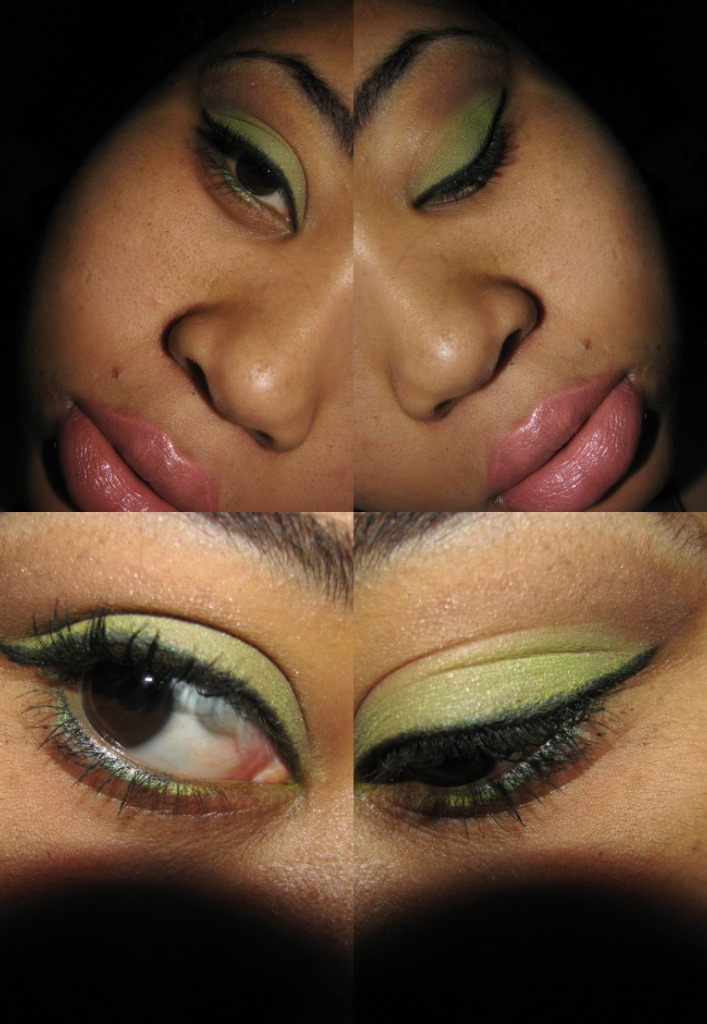 nicki minaj green eyes. nicki minaj green eyes. Nicki Minaj quot;Right Thru Mequot;