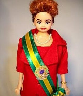 LULITA a boneca de lula(Dilma Rousseff)