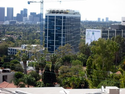 SoHo House View from Hollywood Hills