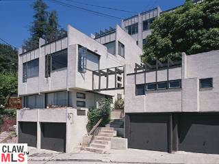 1807 Edgecliffe Schindler Apartments Silver Lake Los Angeles