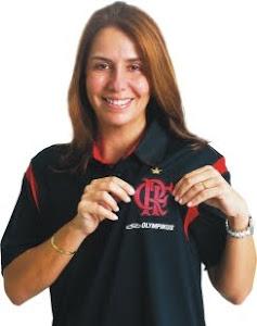 Patrícia Amorim - Atual presidente do Clube do Flamengo - Nasceu em 1969