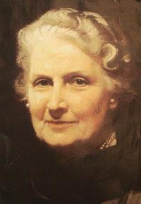 Maria Montessori - Educadora Italiana - Médica - Feminista - 1870 / 1952