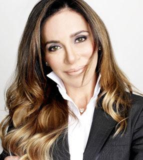 Cristina Arcangeli - Empresária - Atua no ramo de cosméticos - Apresentadora - Nasceu em 1962