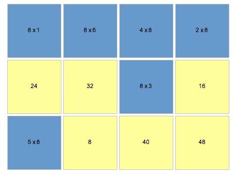 Scorpions des ardoises jeu pour apprendre en douceur les for Jeu table de multiplication en ligne