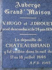 Sur les pas de René-François de Chateaubriand