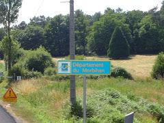 Entrée dans le Morbihan