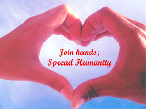 Join Hands Spread Humanity