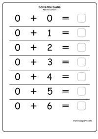 math worksheet : first grade adding zero  worksheets for kids teachers  free  : Zero Property Of Addition Worksheets
