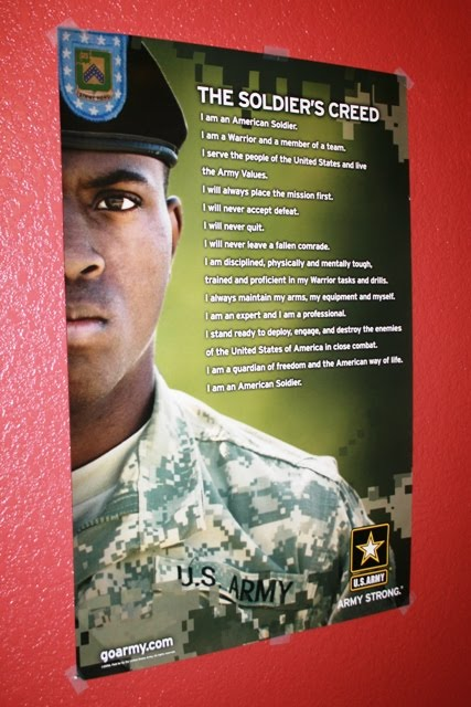 what the soldiers creed means to me essay