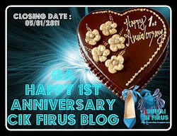 ~~GA HAPPY 1st ANNIVERSARY CIK FIRUS BLOG~~