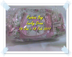 ~~Fashion Bag Lucky Draw~~