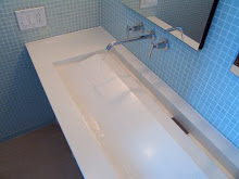Floating Inverted Bowl Sink
