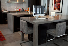 One Piece and Sleek- Concrete in the Kithen