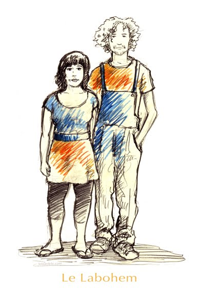 Kim et Étienne