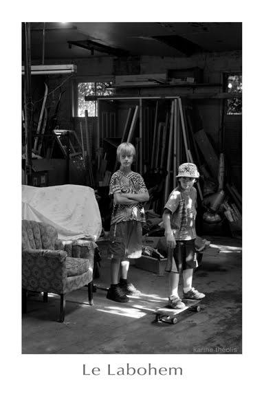 Lucas et Samuel