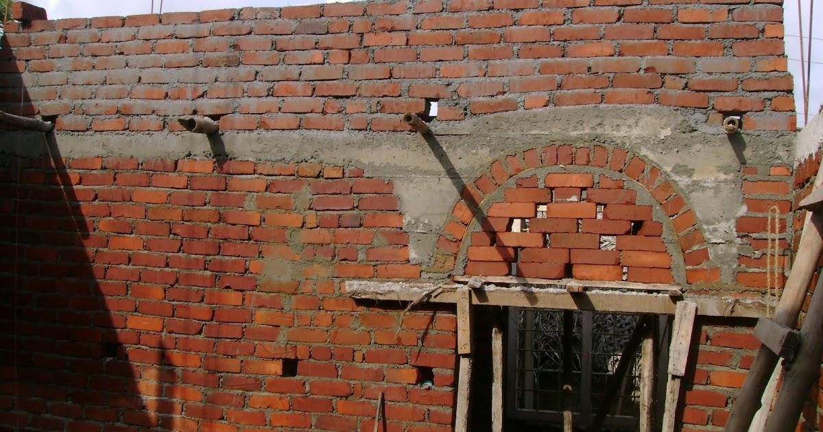 Kerala house construction at cochin brick work reaching for Dreamhomes com