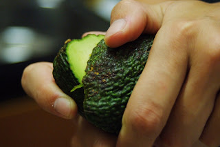 Avocado In Slow Juicer : Eat.Live.Recipes: Weekend Herb Blogging - Avocado