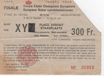 1985, BRUSEL.LES (Juventus)