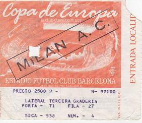 1989, BARCELONA (Milan)