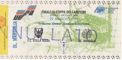 1991, BARI (Estrella Roja)