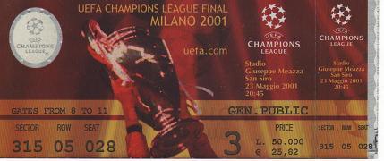 2001, MILÀ (Bayern Munic)