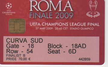 2009, ROMA (FC Barcelona)